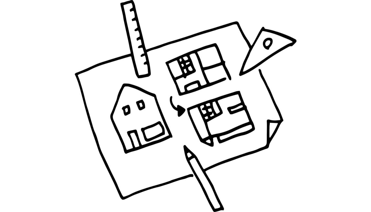 ライフスタイルの変化に合わせ間取りの変更できる住宅
