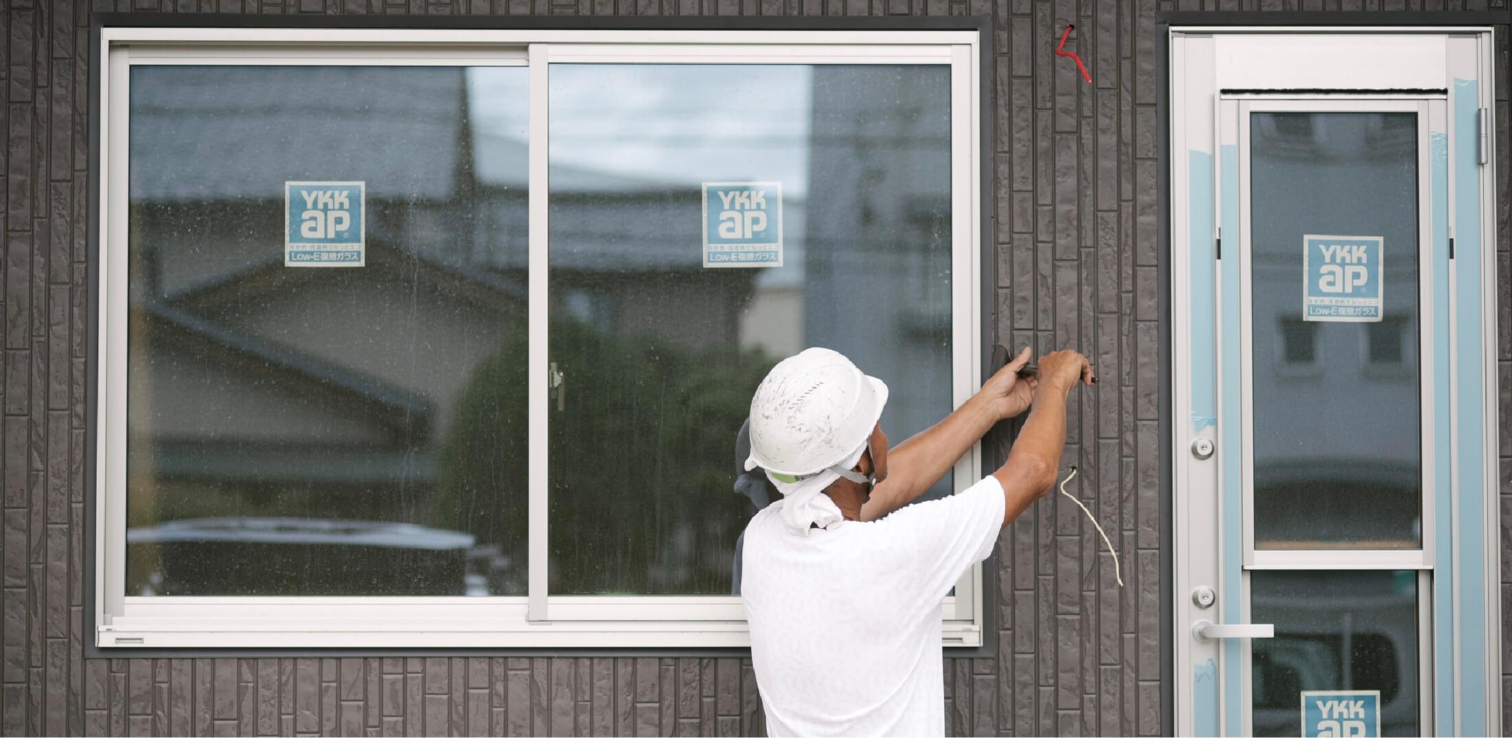 屋根や外壁の塗装が剥がれている